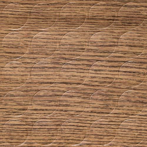 GleitGut Selbstklebende Abdeckkappen für Möbel - Durchmesser 14 mm - 25 Stück - Schrauben-Abdeckungen (Lefkas Eiche)