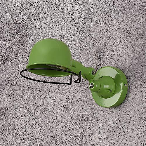 Wandlamp wandlamp e14 mechanische arm Frankrijk Jielde wandlamp Reminisce verzonken dubbele vintage vouwstang zonder schakelaar glans