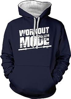 Tcombo Workout Mode - Gym Fitness Bodybuilder Unisex Hoodie Sweatshirt