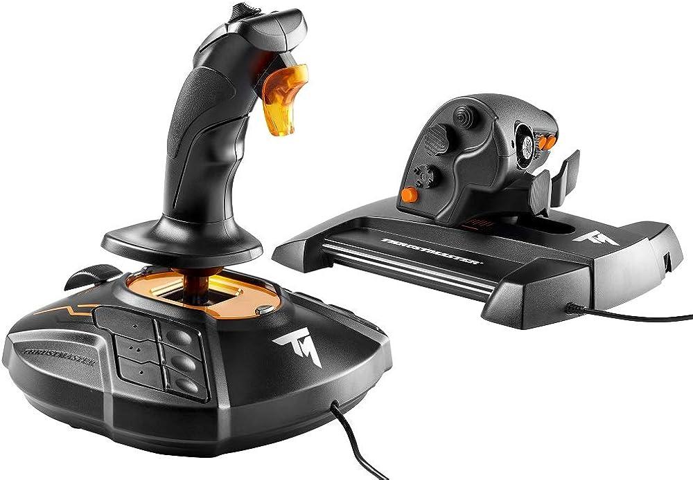 Thrustmaster, joystick e dalla manetta twcs, compatibile con pc via usb in windows T.16000M FCS Hotas