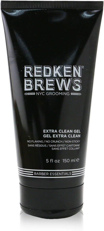 REDKEN Brews Extra Clean - Gel para una fijación limpia y suave