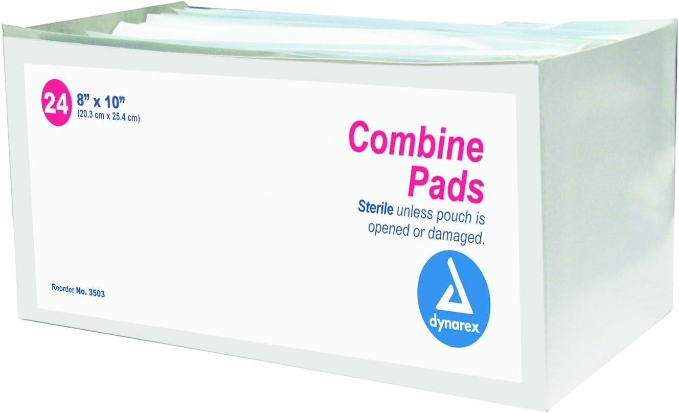 Max 41% OFF Dynarex Combine supreme Pads 1 pouch - Sterile x 24 Cs 8