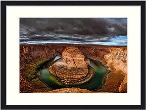 OiArt Art Print Wall Picture (20x14 inch) - Powell Lake Arizona Glen Canyon Sky Clouds Sunset