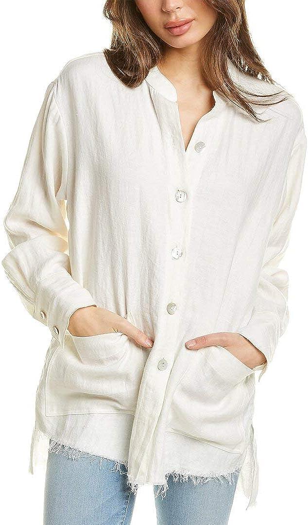 Fifteen wholesale Twenty Raw Hem Linen Jacket Shirt latest