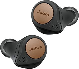 Jabra Elite Active 75t True Wireless Bluetooth Earbuds, Copper Black – Wireless Earbuds for Running and Sport, Charging Case Included, 4th Generation, 28 Hour Battery, Sport Earbuds