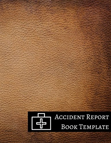 Accident Report Book Template