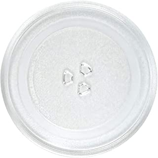"""12.5"""" GE Microwave Glass Plate, Samsung and LG Compatible Microwave Glass Plate - Microwave Glass Turntable Plate Replacem..."""