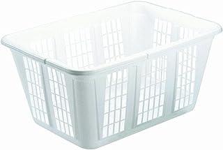 Rubbermaid Laundry Basket, 1.6-Bushel, White (FG296585WHT)