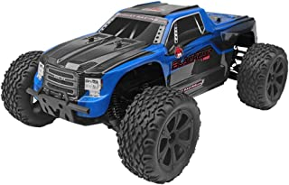 Redcat Racing Blackout XTE PRO 1/10 Scale Brushless Electric Monster Truck with Waterproof Electronics, Blue