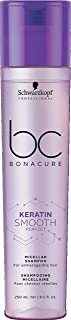 BC BONACURE Keratin Smooth Perfect Micellar Shampoo, 8.4-Ounce