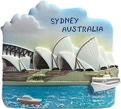 Sydney Opera House Australia, Collectible Crafts Souvenir Resin 3D Fridge Magnet