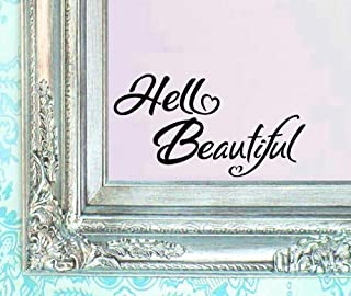 BERRYZILLA V2 Hello Beautiful Decal 5.5