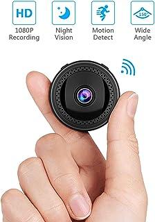 Cámara Espía Oculta WiFi SAVFY 1080P HD Inalámbrico Camara Vigilancia Camaras de Vigilancia Ocultas Videocámara de Vigilancia per iPhone Android PC