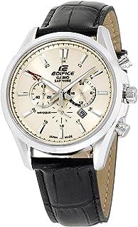 Edifice Quartz Movement Beige Dial Men's Watch EFB504JL7A