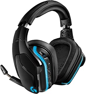 Logitech G935 Wireless DTS:X 7.1 Surround Sound LIGHTSYNC RGB PC Gaming Headset (Renewed)