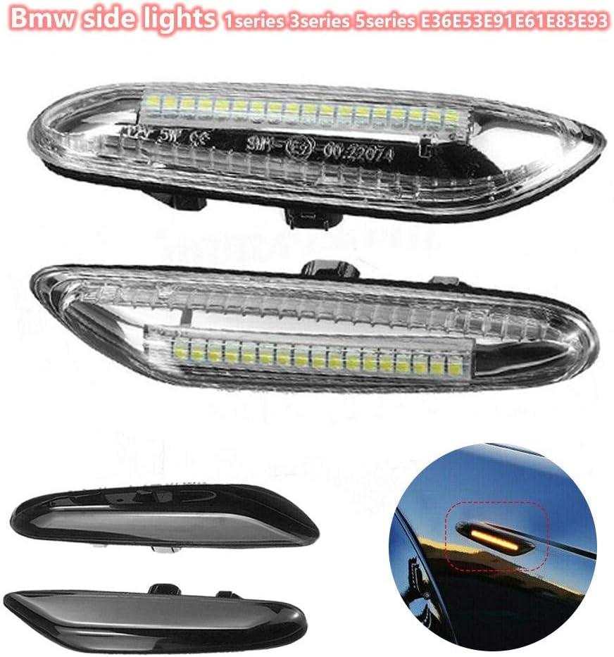 2 indicatori di direzione laterali a LED per E46 E60 E82 E92 E93 Dynamic