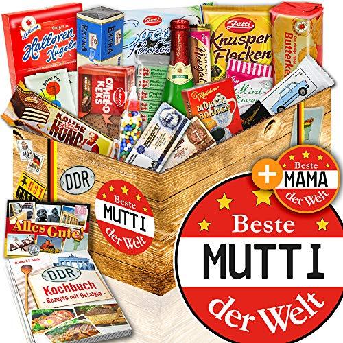 Beste Mutti - Geburtstag Geschenk Schokolade - DDR Korb