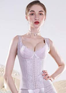 Girdle belt, slimming and shaping abdomen artifact, flat-back stomach shaping suit, postpartum girdle, female waist training device, composite fabric (Color : Purple, Size : XS)