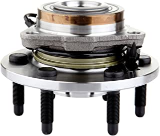 ECCPP 515096 New Front Wheel Hub Bearing Assembly for Cadillac Escalade, Chevy Avalanche, Silverado, Suburban, Tahoe, GMC Yukon Sierra 1500 4X4 4WD 6 Lug Left Or Right W/ABS