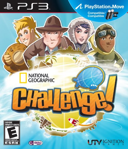 National Geographic Challenge (Move) - Playstation 3