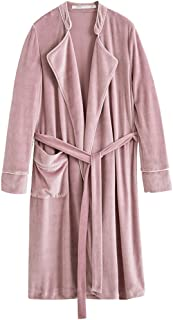 GAOLILI 秋冬シーズンレディパジャマシックニングロングスリーブカーディガン睡眠ローブファッション家服バスローブ