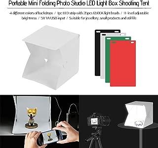 Creative-Idea LED Plegable Bo?Te /¨ /¤ lumi /¨ /¨ re Photo Studio?clairage Tienda Cubo Gran Port/átil Fotograf/ía Fondo para Fotograf/ía lumi /¨ /¨ re