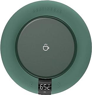 Perfk Coffee Mug Warmer Cup Heater Smart Thermostatic Hot Tea Makers 3 Gear Heating Coaster Desktop Heater for Coffee Milk...