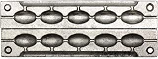 Adygil Bean Sinker Mold with 5 Cavities and 1-Ounce