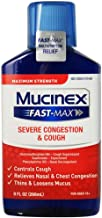 Mucinex Fast-Max Adult Severe Congestion and Cough Liquid, 9 oz (Pack of 8)