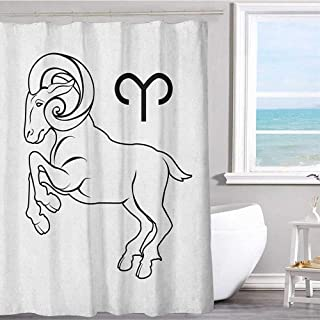 MKOK Shower Curtain Lining 60
