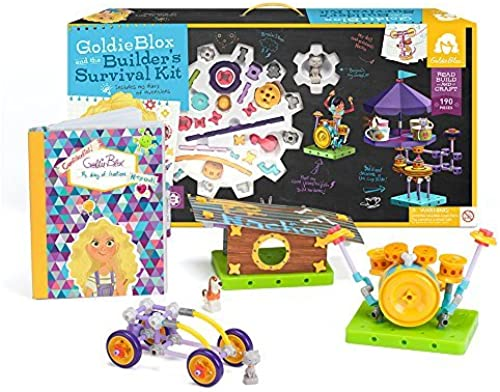 GoldieBlox and the Builder's Survival Kit by GoldieBlox