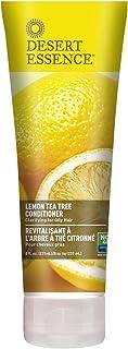Desert Essence Lemon Tea Tree Conditioner - 8 Fl Ounce - Soft & Silky - Soothes Scalp - Strengthens Hair - Nourishing & Re...