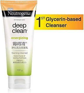 Neutrogena Deep Clean Energizing Foaming Cleanser, 100 g