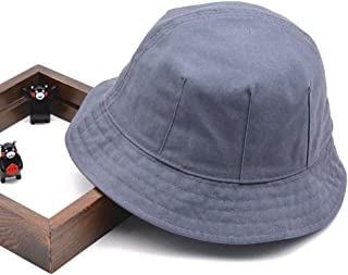 Asdfnfa Sun Hat, Unisex Dome Cap, Sun Hat, Summer UV Protection Folding Beach Hat, Big Hat, Fishing Hat (Color : Dark Gray, Size : M)