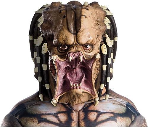 Horror-Shop Masque en Latex à Tête Pleine Prougeator pour Adultes