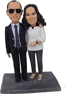 Personalizzato Padre e madre bambolina Regalo di famiglia Genitori Grazie Regalo ai genitori regalo per i regali di famigl...
