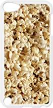 Popcorn White plastic snap on case - for the Apple iPod iTouch 4th Generation.