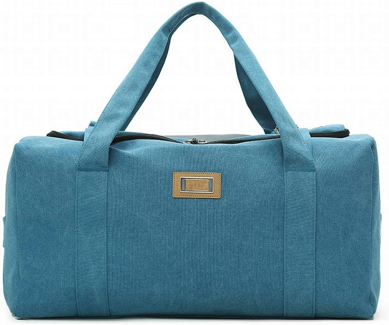 Souliyan Cavanas Water Resistant Sports Gym Travel Weekender Duffel Bag for Men (color   blueee, Size   Small)