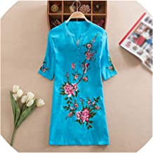 Women's National Wind Loose Cotton and Linen Embroidered Costume Han Chinese Clothing