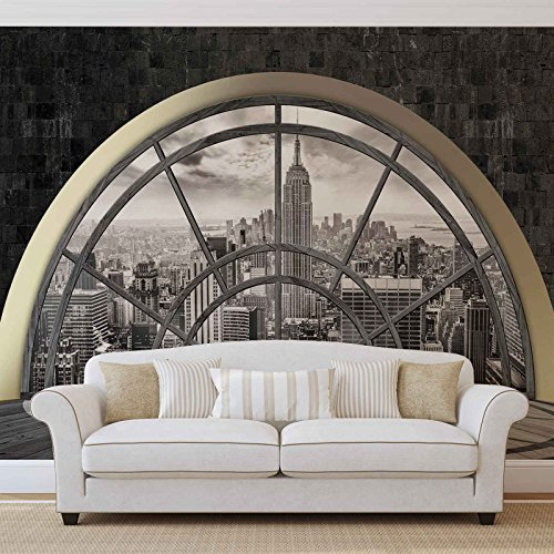 Papier Peint Décor ForWall NEW YORK CITY AF2396VEXXL (312cm x 219cm) Murale Art Image