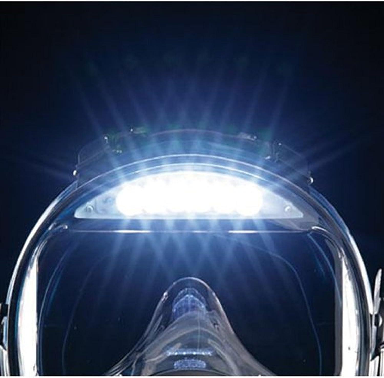 Ocean Reef Visor Light Only, Pre Assembled on a Neptune Mask
