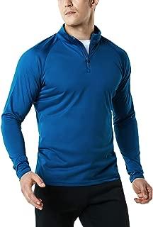 Men's 1/4 Zip HyperDri Cool Dry Active Sporty Shirt Top