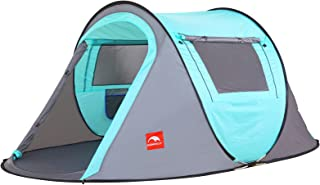 KOMMOT 2/4 Person Instant Pop-up Tent, Upgraded...