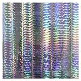 HanGao 10 PCS Papel pegajoso Flash 20x10cm Etiqueta Bricolaje Pescado Modificado Flash Flash Lure Bait Tape Pegatina de Holograma Accesorio de señuelo (Color : 05)