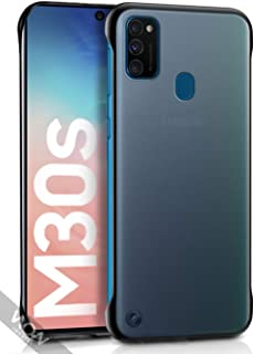 WOW Imagine   The Ultimate Case   For Galaxy M30s   Shock Proof Ultra Slim Frameless Design, Complete Protection   Hybrid Stylish Bumper Hard Back Case Cover Designed for Samsung Galaxy M30s - DarkNight Matte Black
