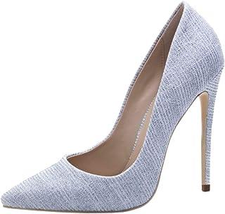 Melady Fashion Women Shoes Stiletto High Heels Pumps Slip On