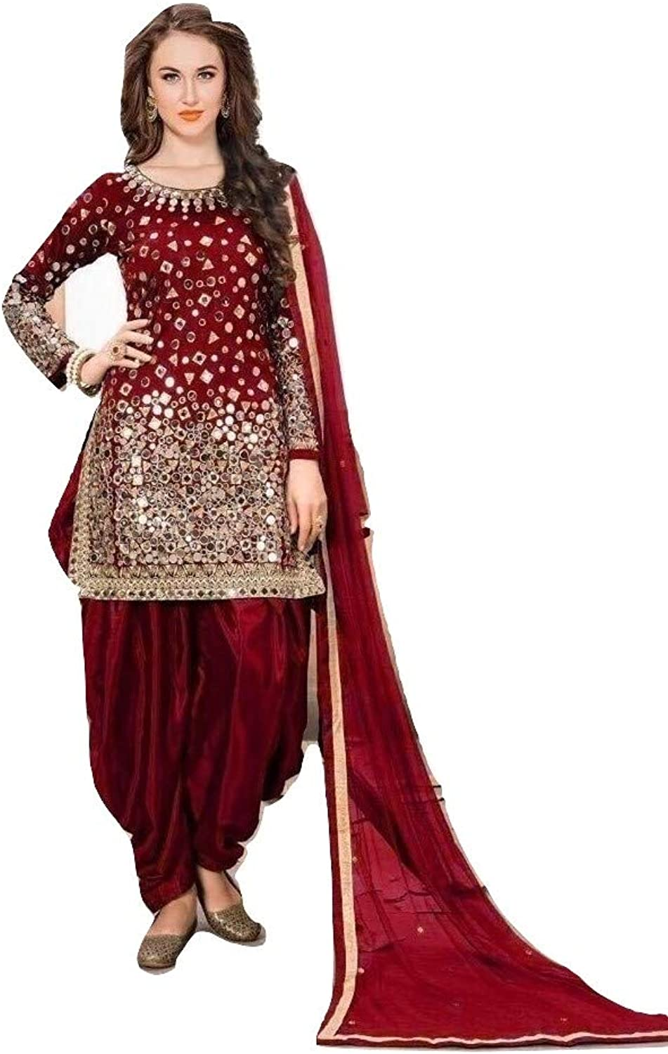 Indian Pakistani Panjabi Salwar Patiyala Salwar Kameez Fashion Beautiful Formal Suit