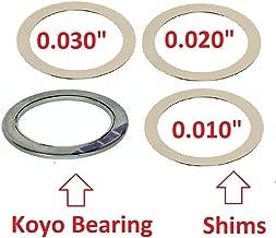 Torque Converter Bearing & Shims Kit for 3.38