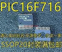 1個/ロットPIC16F716-I/SS PIC16F716 SSOP-18