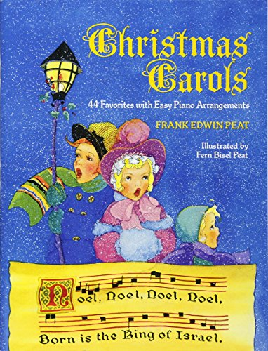 Christmas Carols: 44 Favorites with Easy Piano Arrangements (Dover Song Collections)